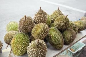 Durian Fruits Selling at Road Side