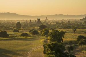 Myanmar, temples in Bagan