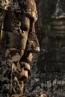 The Bayon faces
