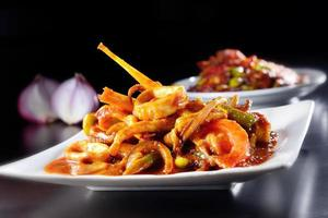 Dried Chili Sause Squid photo