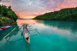 destino de viaje de islas togian foto