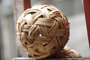 Rattan ball the southeast asia favorite sports photo