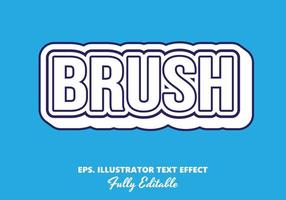 Brush White and Purple EditableText Effect vector