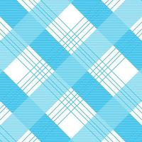 Seamless pattern blue crossed shirt fabric texture vector