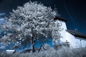 Templar church at village Martincek, Slovakia