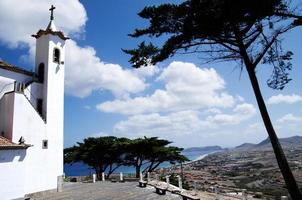 Porto Santo view from Senhora da Graca chapel photo