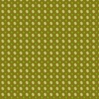 Lime Floral Circle Pattern Design vector