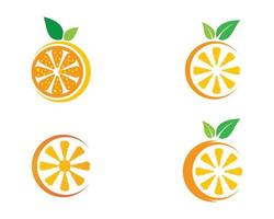 Round Orange Logo Set