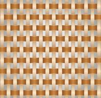 textura de estera de bambú vector