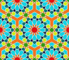 Bright Morocco Seamless Pattern