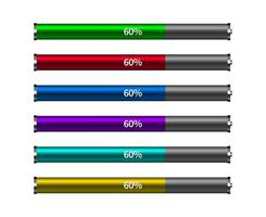 Different colors of Battery Loading progress bar