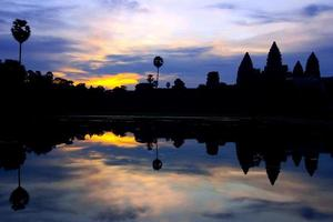 angkor wat nascer do sol, camboja