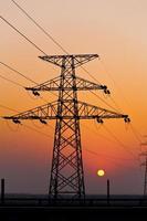high voltage tower photo