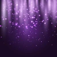 Abstract glowing lights background vector