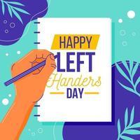 Celebrate Left Hand Day