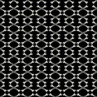 Seamless black and white pattern with wrench