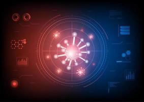 elementos de investigación de virus