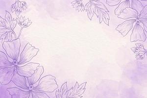 Puderpastell lila und weißer Hintergrund
