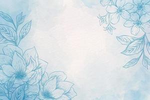 Puderpastell mit handgezeichnetem Elementhintergrund