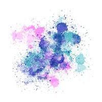 fundo aquarela splatter