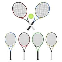 Tennis racket isolated on white background vector