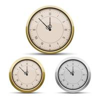 Pocket watch isolated on white background vector