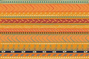 Vintage Deco Tribal Ethnic Pattern vector