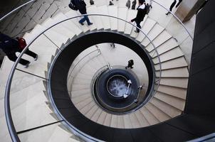 Spiral stairs photo