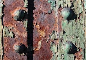 Rusty bolt joints