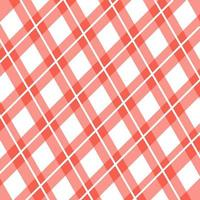 Gingham Seamless Plaid Background vector