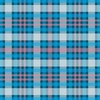 padrão sem emenda de tartan xadrez azul, rosa clássico vetor