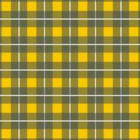 vertical amarelo, cinza xadrez xadrez padrão sem emenda vetor