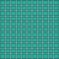 Teal Green Seamless Plaid Checkered Pattern