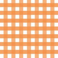 modèle sans couture plaid orange vecteur