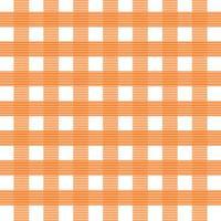 padrão sem emenda xadrez laranja vetor
