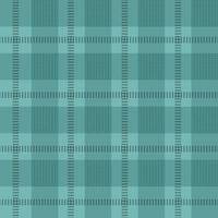 Teal Seamless Plaid Background vector