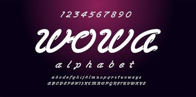 Rounded Script Fashion Font