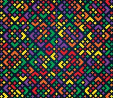 Colorful Geometric Diamond Pattern vector