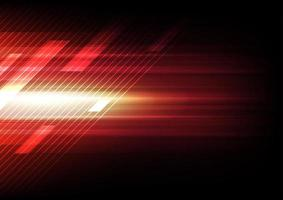 Dynamic red glowing abstract design vector