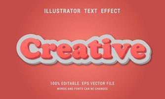 Peaceh Creative Text Effect vector