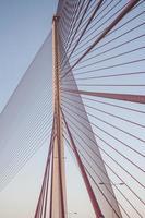 quedarse puente de cable, talavera foto