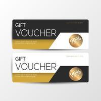 Luxury gift voucher cards