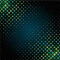 motif de demi-teintes d'étoile aux tons verts