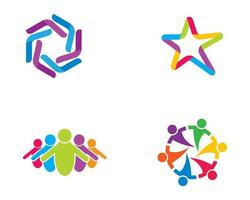 Community star logo set
