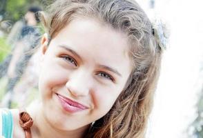 happy girl photo
