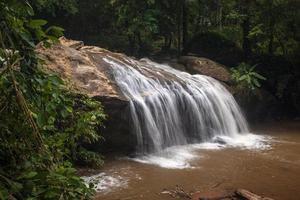 Waterfall near Chiang Mai photo