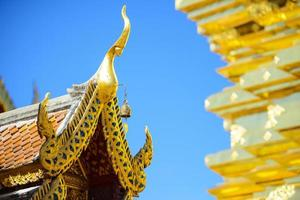Roof of the Wat Phra That Doi Suthep