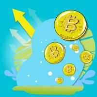 Bitcoins for business content