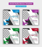 modèle de publication de la journée internationale du yoga