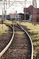 estación de ferrocarril foto
